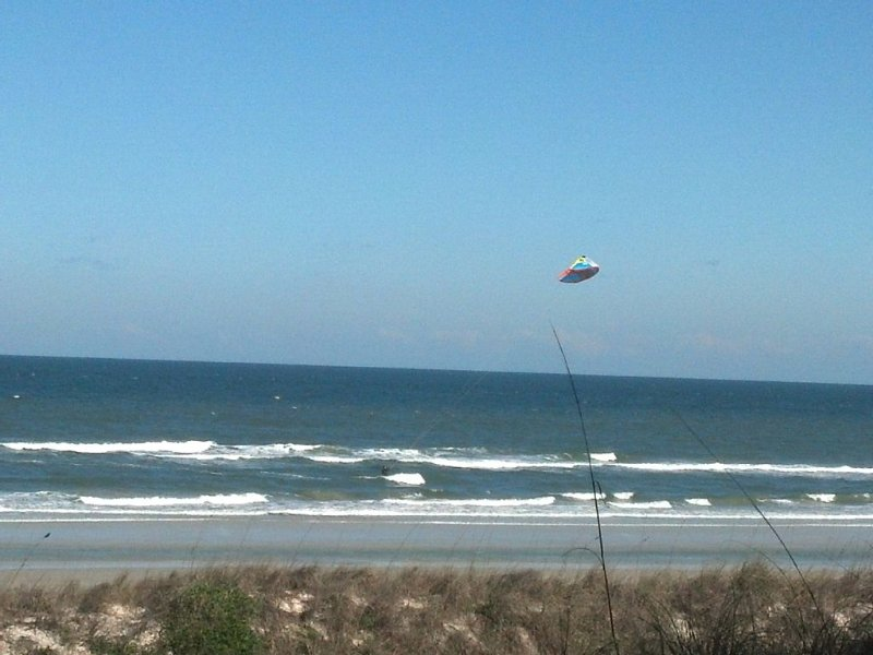 Or Watching The Wind Surfers