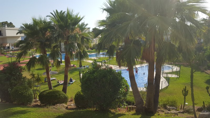 Great residential pool and kids pool within the complex, pictured from your terrace / balcony