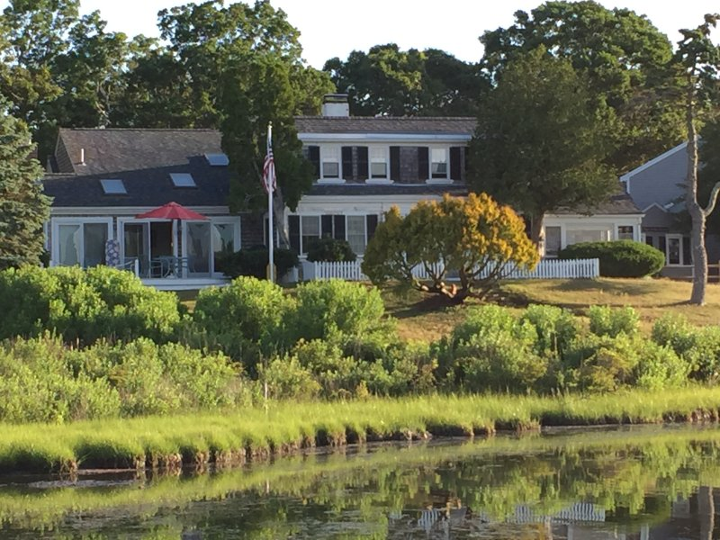 View of house from SW pond