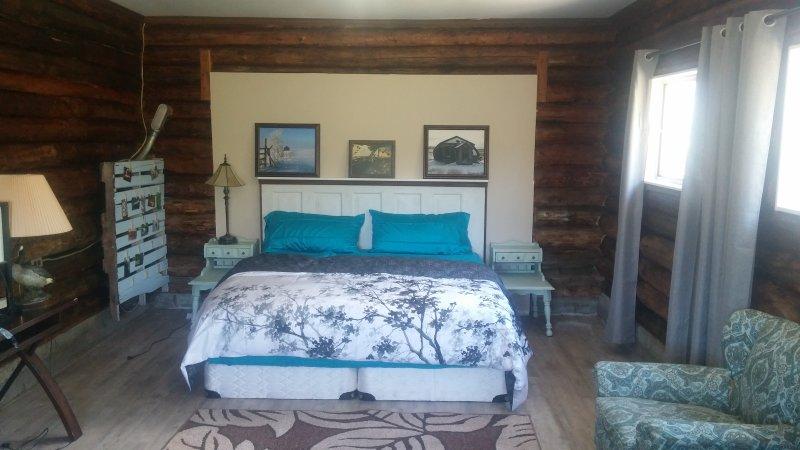 Ultra superior acolchada cama de matrimonio.