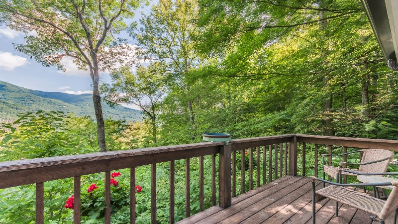 View from the private master deck.