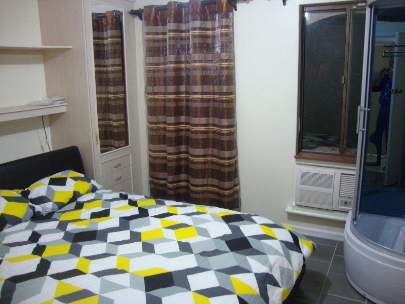 quartos climatizado queen-size com casa de banho em suite