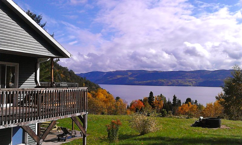 Splendide Panorama Fjord Saguenay, holiday rental in Sainte-Rose-du-Nord