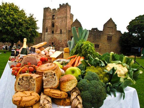 Visit Ludlow Castle and Food Festivals