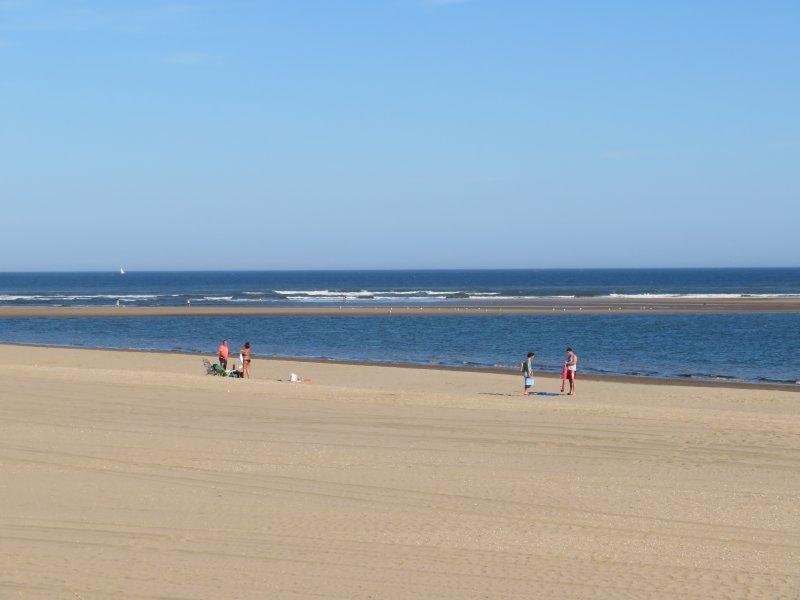 7km of sandy beach outside the door!