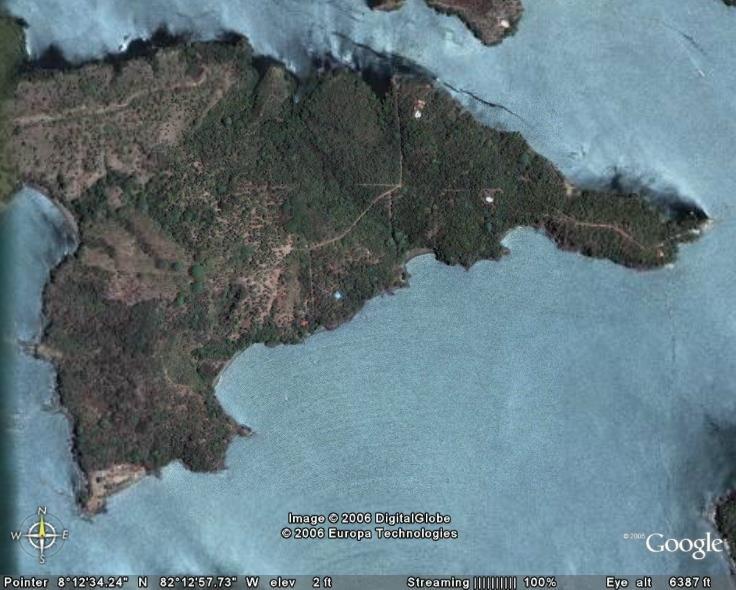On Isla Boca Brava - Chiriqui - Panama
