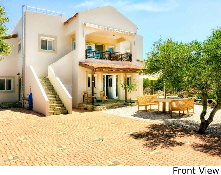 Secluded 8 person villa, Villa Lefka Ori, holiday rental in Vamos