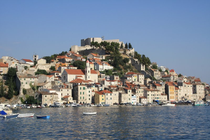 Sibenik city fortress