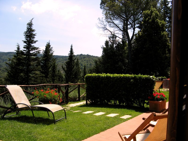 Holiday house Chianti Florence Siena with pool, vacation rental in Barberino Val d'Elsa