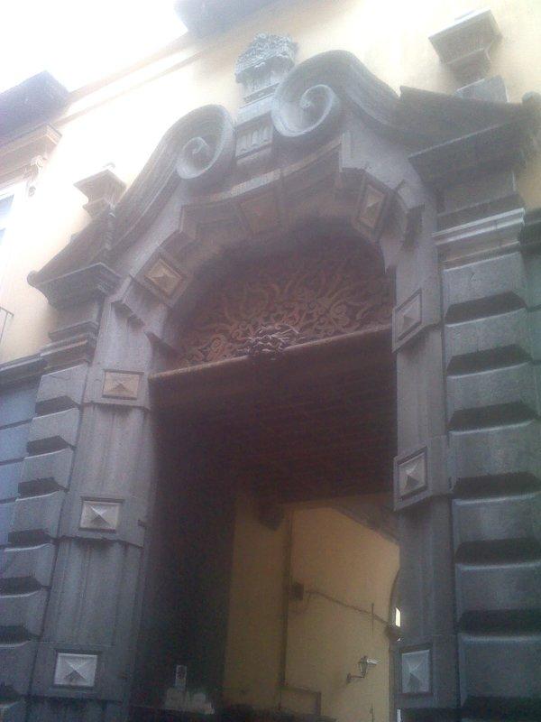 Historical entrance building