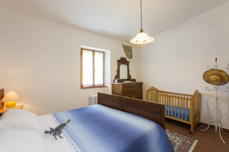 bedroom with private bath