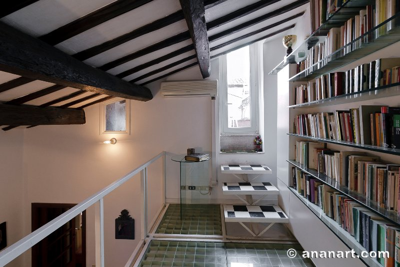 Loft and library