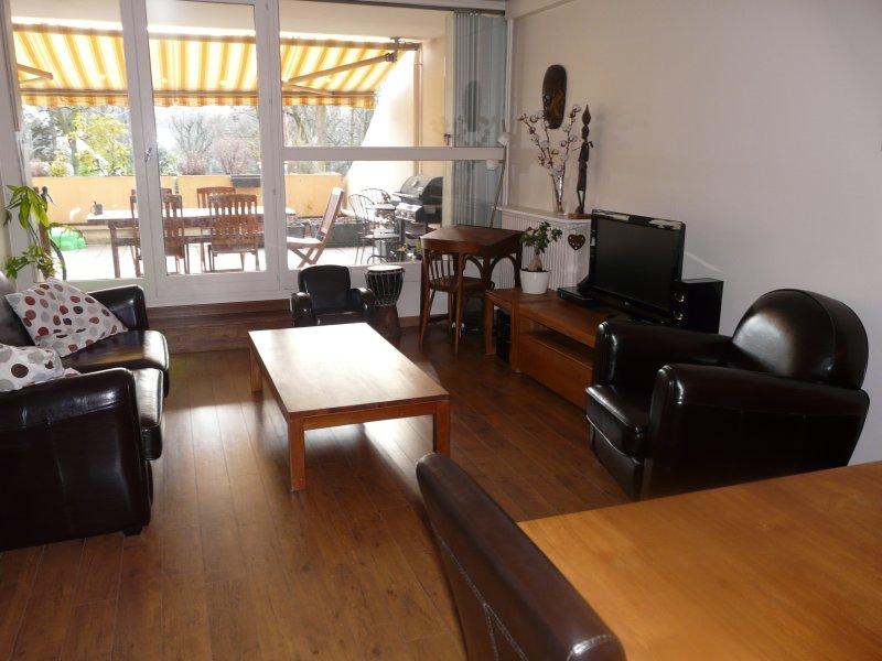 Grand appartement avec terrasses à 10min  de Paris, location de vacances à Saint-Denis