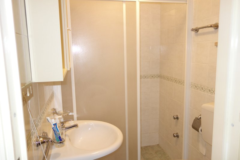 Ensuite bathroom attached to bedroom 2 - large shower