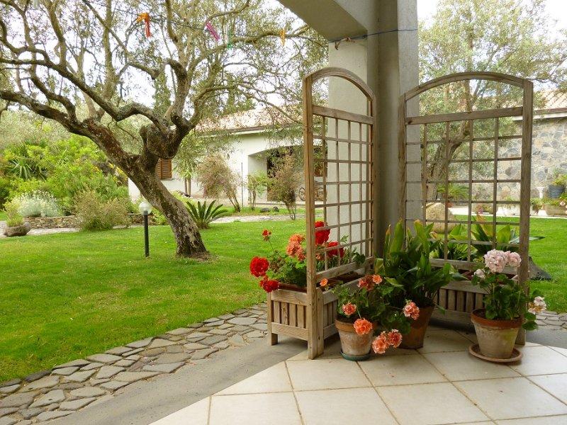 Veranda e visuale giardino