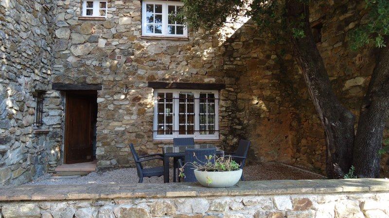 Hameau des Claudins - Studio Gassine, vacation rental in Plan de la Tour