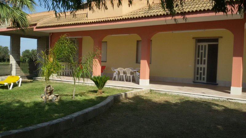 Garden and veranda