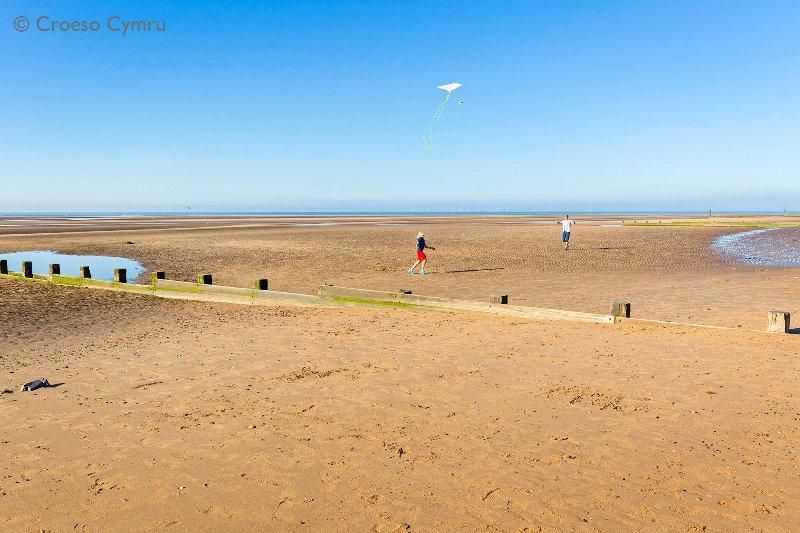 Solo 12 miglia dalla costa nord del Galles e numerose spiagge sabbiose
