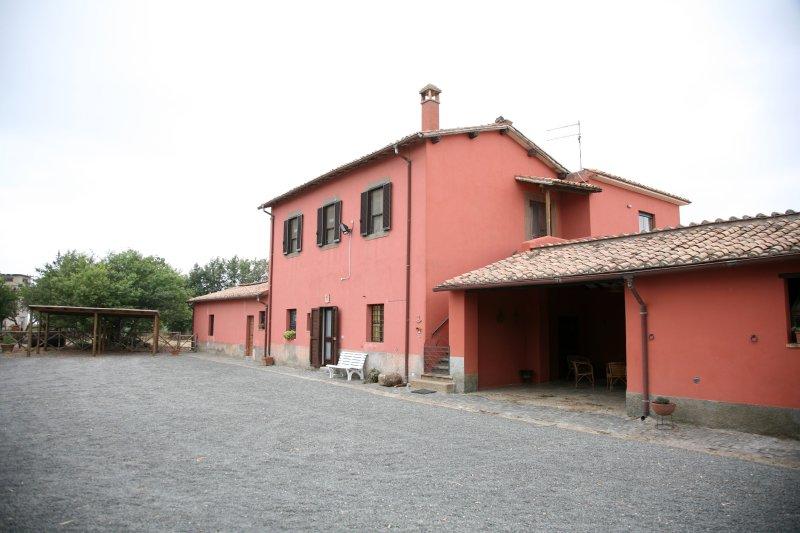 Exterior view of Casalino dei Francesi