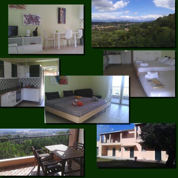 New spacious studio apartment with wonderful view, alquiler de vacaciones en Agios Ioannis
