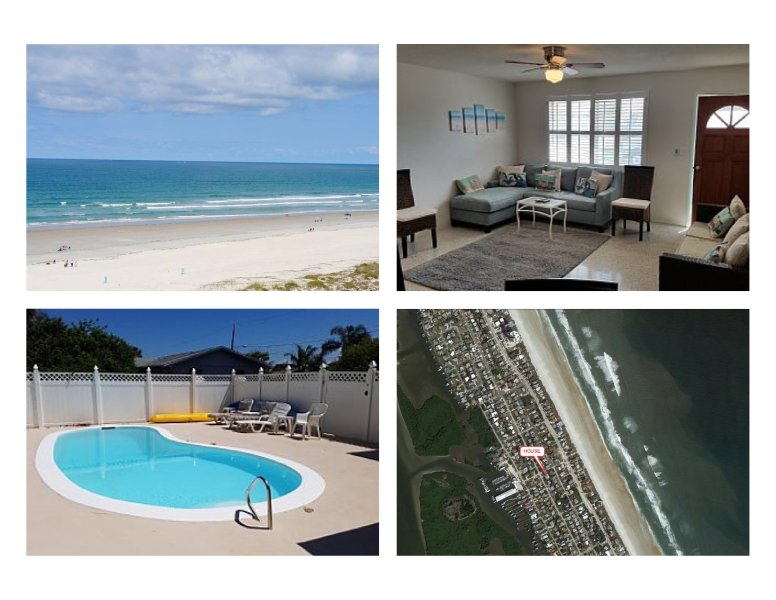 Cute Bungalow near the Beach & River with Private Pool, Patio, Grill, & Kayaks!!, vacation rental in Port Orange