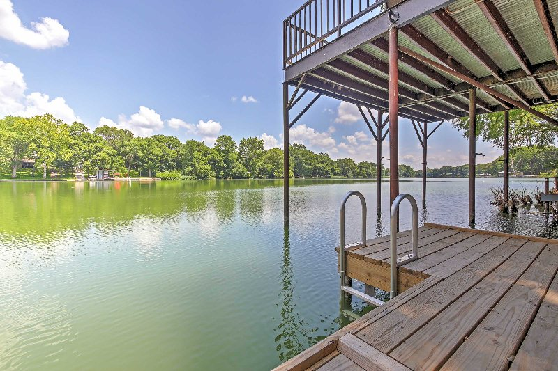 Dock access is right at your fingertips for a variety of lake activities!