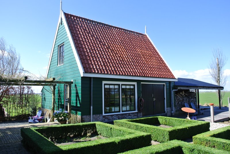 Amsterdam Waterland Skaap b&b, holiday rental in Zunderdorp