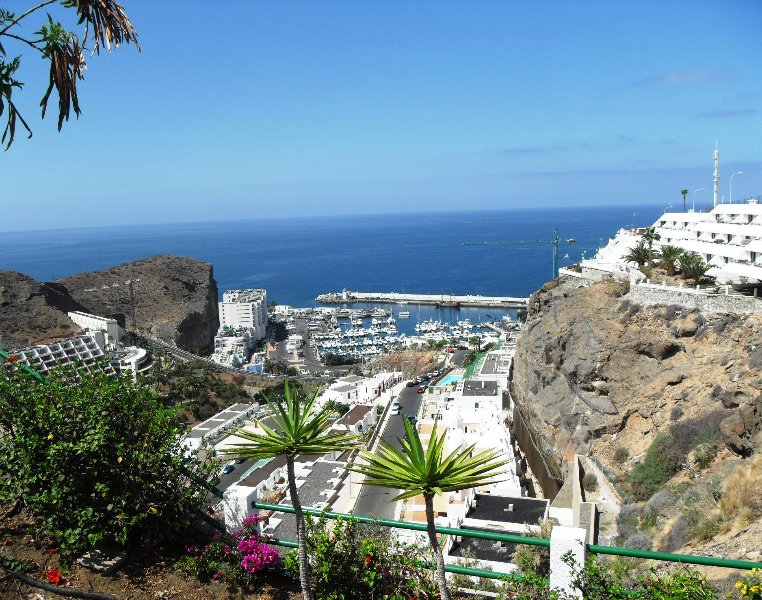 Traumblick auf Yachthafen - Espectacular views - Vistas espectaculares – semesterbostad i Puerto Rico