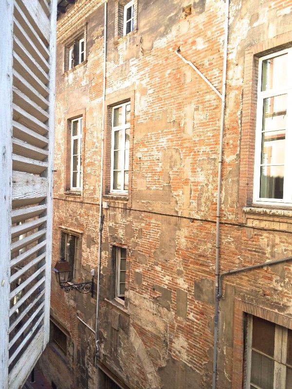 Exterior view, facade