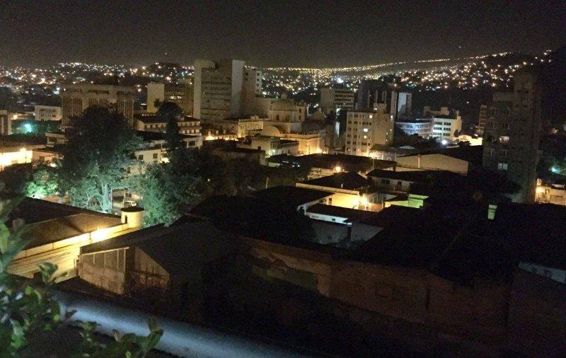 vista da cidade a partir do terraço