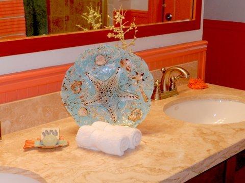 lavabo doble en el baño principal