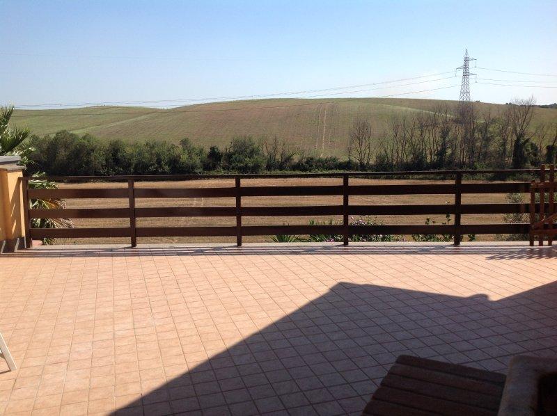 patio al aire libre solarium