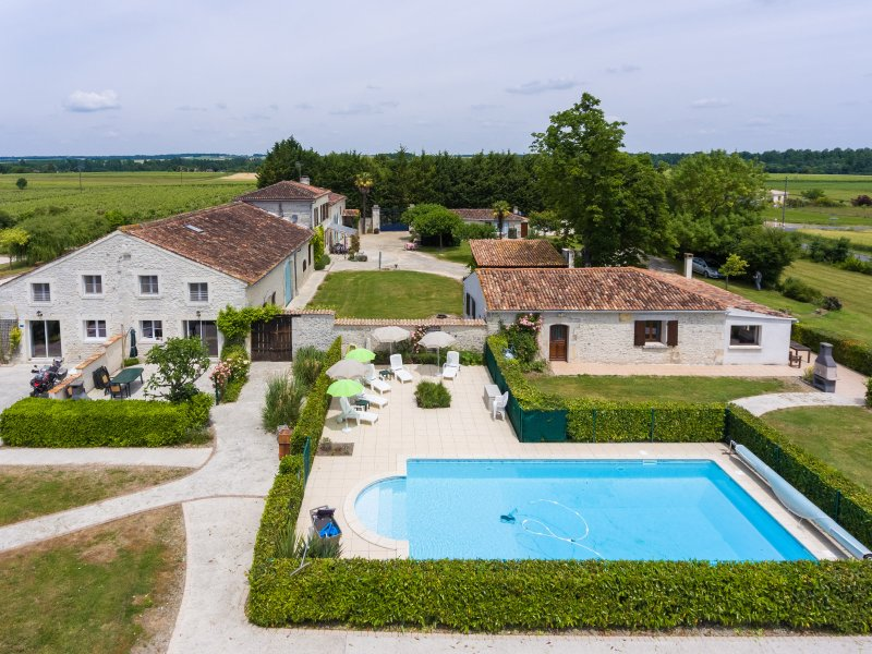 Gites de Brives with our large, inviting swimming pool