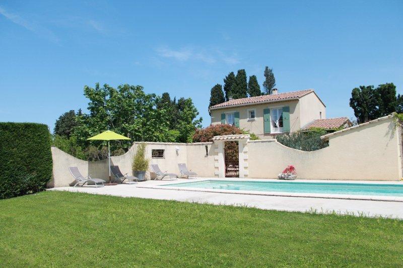 Au coeur de la Provence, le Mas des Hamadryades, location de vacances à Cabannes