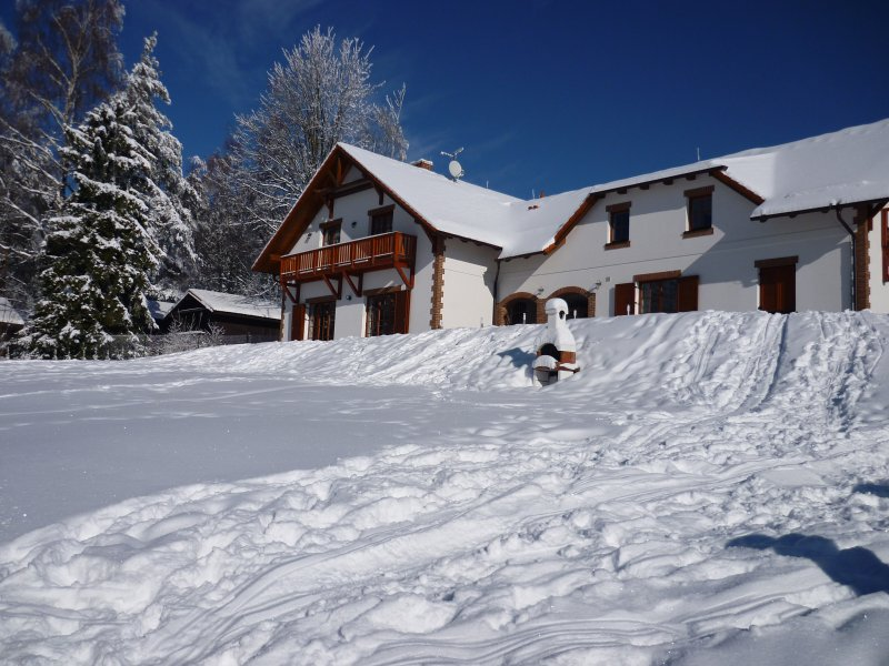 VILLA VICTORIA large family house - Lipno ski & lake area, holiday rental in Lipno nad Vltavou