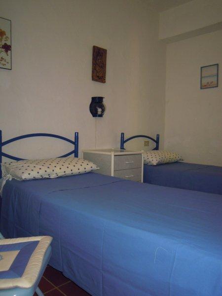 Blue Bedroom twin beds version