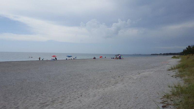 very private beach.