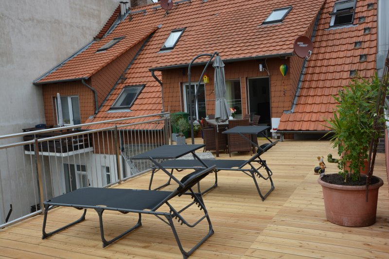 Dachterrasse Rosengarten
