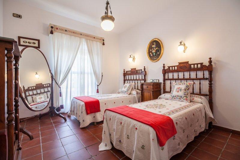 3 kamer met twee bedden 90cm