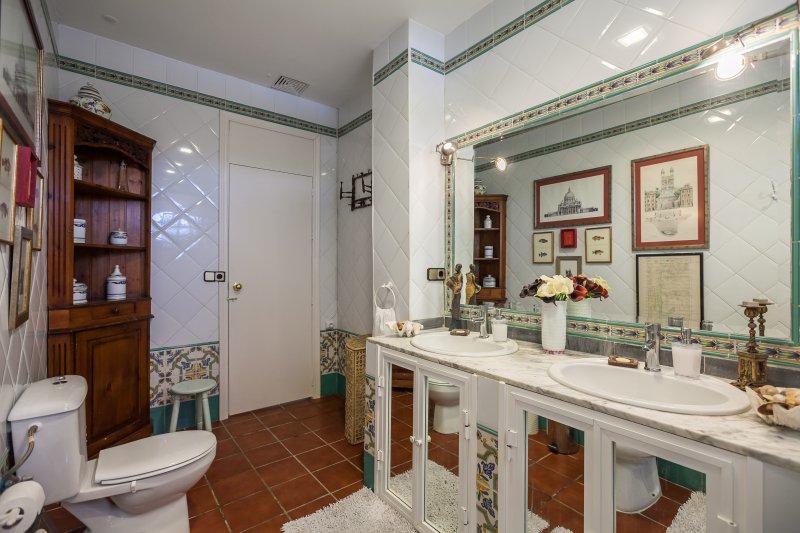 Binnenlandse badkamers