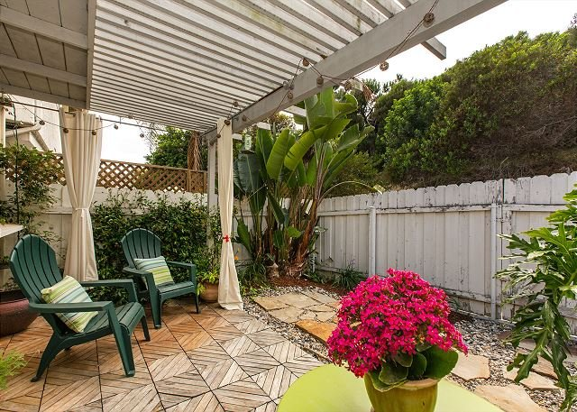 Private & Enclosed Patio