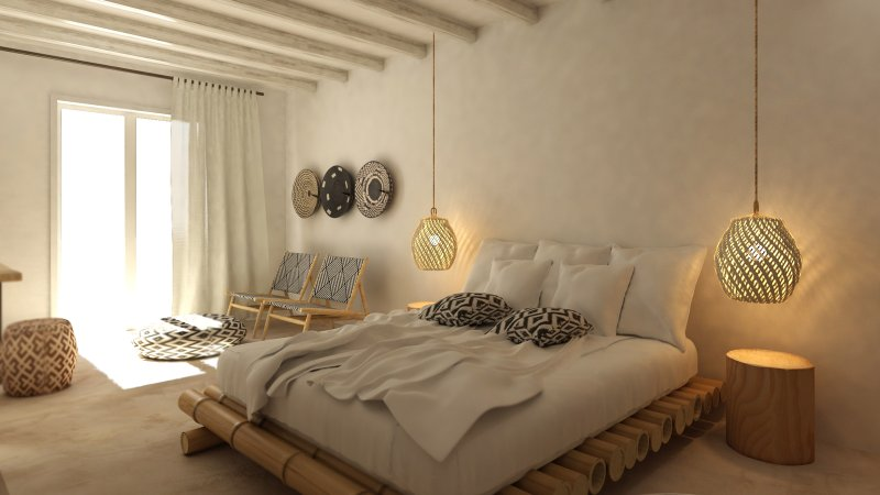 Deluxe Suite with Outdoor Jacuzzi, holiday rental in Plaka