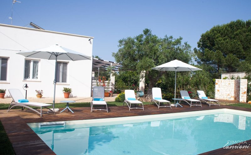 Dimora Lamioni – 4 bedroom holiday home with swimming pool and garden, Ferienwohnung in Polignano a Mare