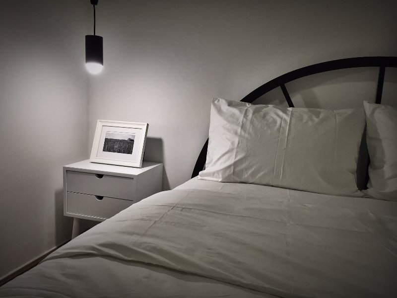 Clean and minimalist, yet cozy interior