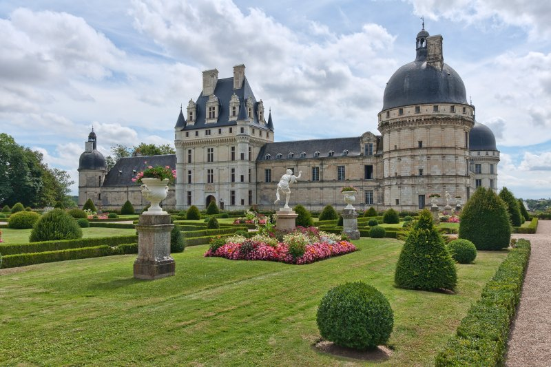 Château de Valençay - The manor was praised as 'one of the most beautiful on earth' by George Sand.