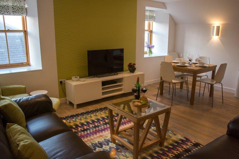Lund, Flat 2, Gardie Court, Lerwick, Shetland, holiday rental in Scousburgh