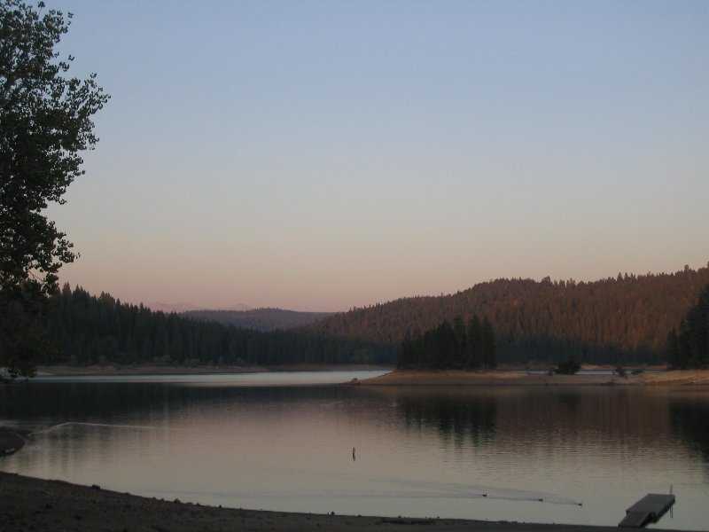 Cabin is near Jenkinson Lake in the Sly Park Rec area. Go boating, hiking, swimming, Picnicking.