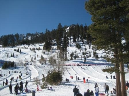 Sierra-at-Tahoe ski resort and Adventure Mountain sledding (shown). About 30 min. from Pollock Pines
