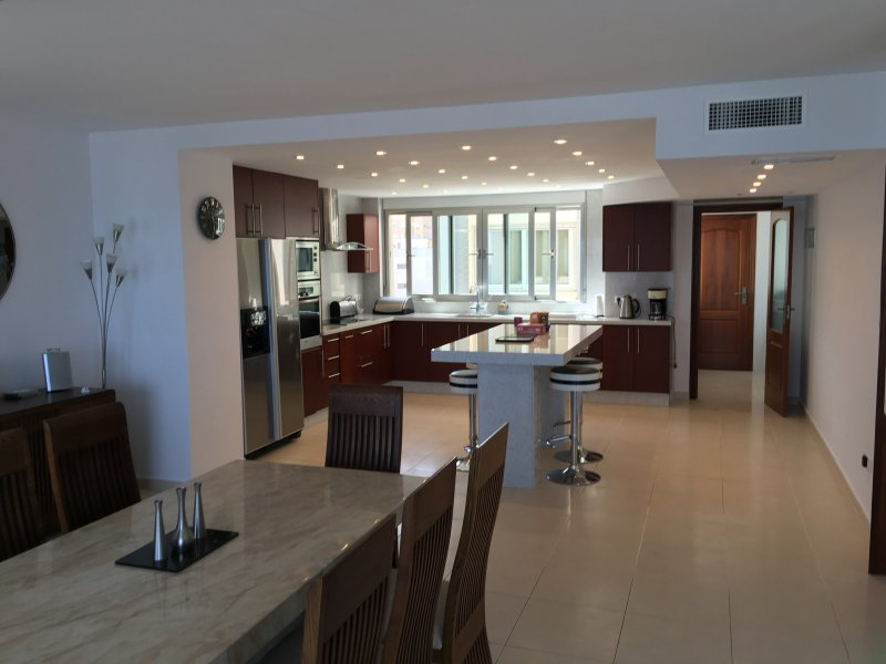 Truly luxurious kitchen and dining areas