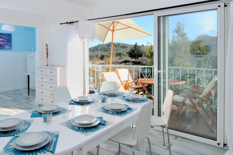 Villa with wellnes centre and gym, vacation rental in Murter